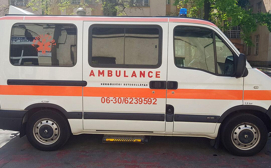 Magán mentő